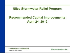 Recommended Capital Improvements