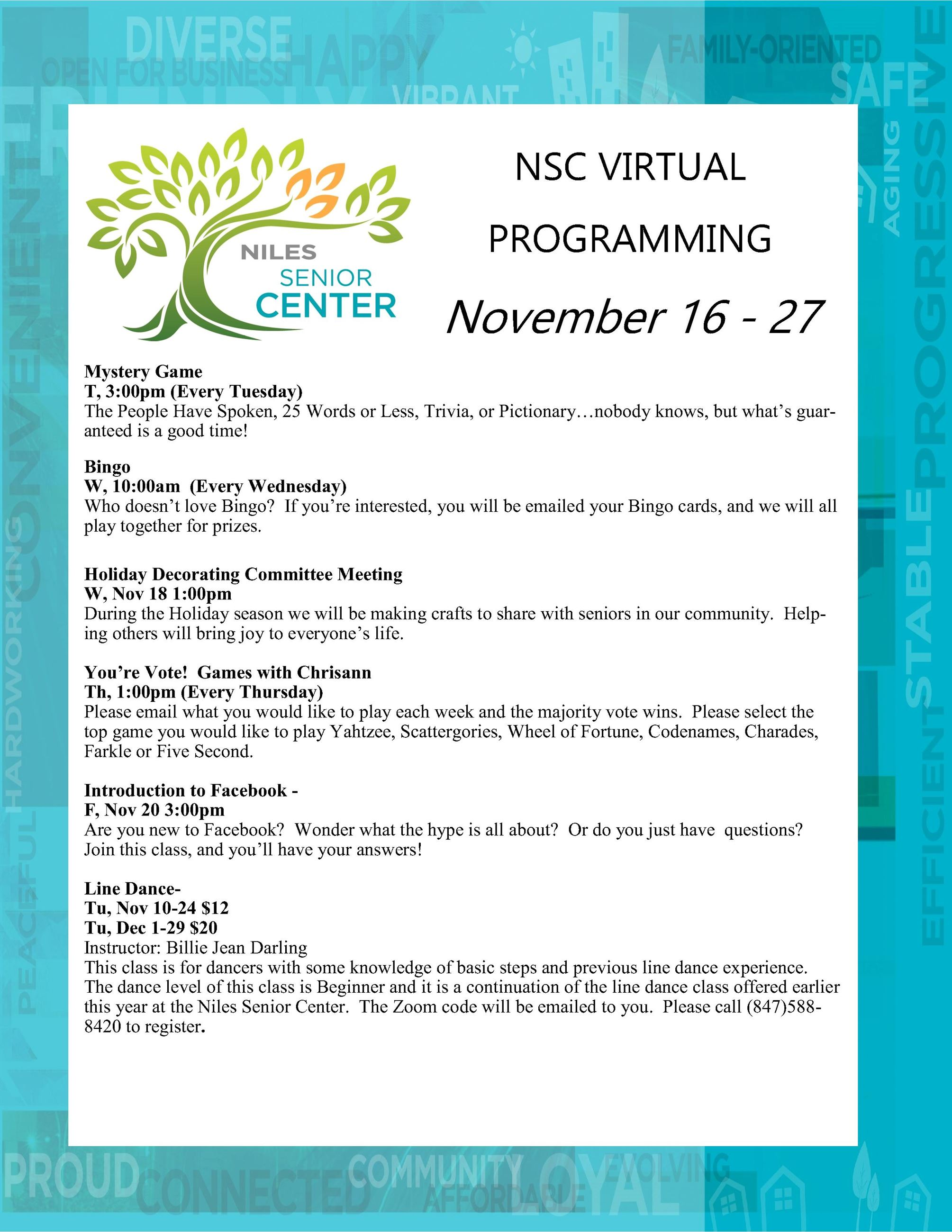 NSC Virtual Programming November 16 - 27  Virtual Program Guide_2