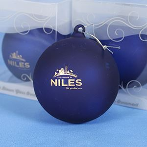 Blue Niles Ornament