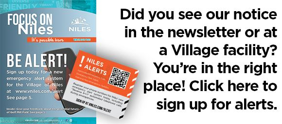 Did you see our notice in the newsletter or at a Village facility? You're in the right place! Cli
