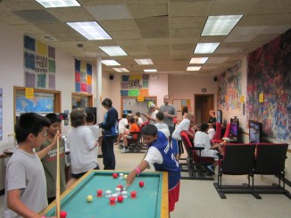 """Night In the Mall"" Lock-In - 4:30 a.m. Game Tournaments"