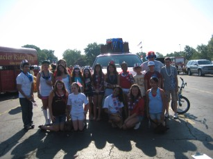 29 teens participated in the Niles Fourth of July Parade