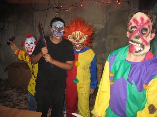 Killer Clowns - Haunted Garage 2009