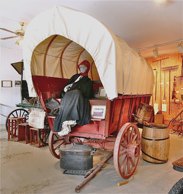 1886 covered wagon